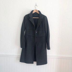 Zara Woman dark grey coat. XS.